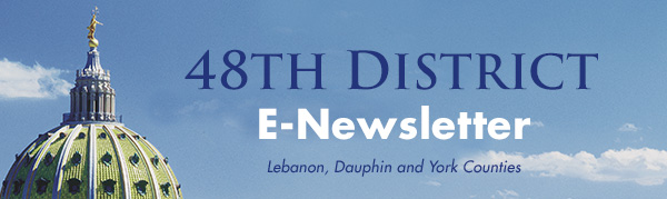 Pennsylvania's 48th Senatorial District E-Newsletter